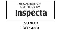 Inspecta ISO 9001 ja ISO 14001 sertifikaatit